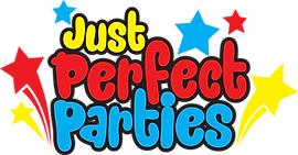 just perfect parties logo