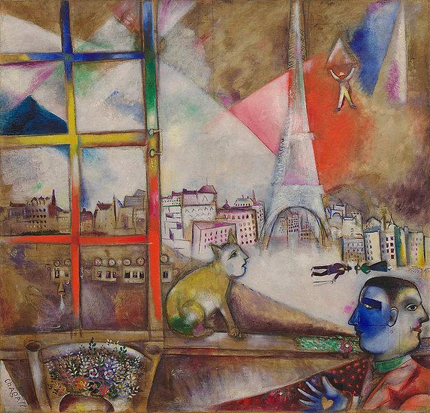Marc_Chagall,_1913,_Paris_par_la_fenêtr