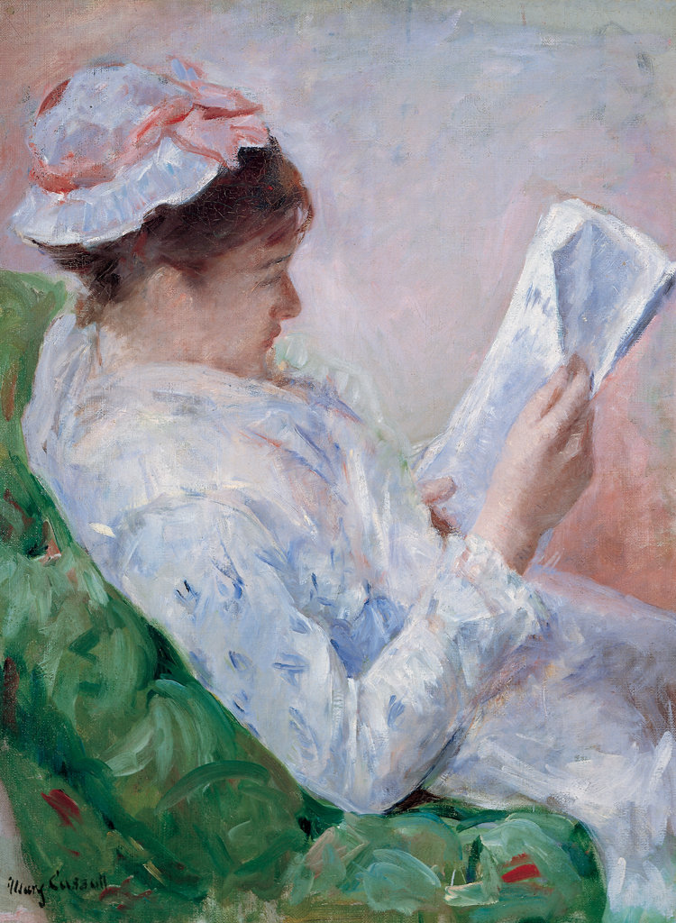 Mary Cassatt Woman Reading