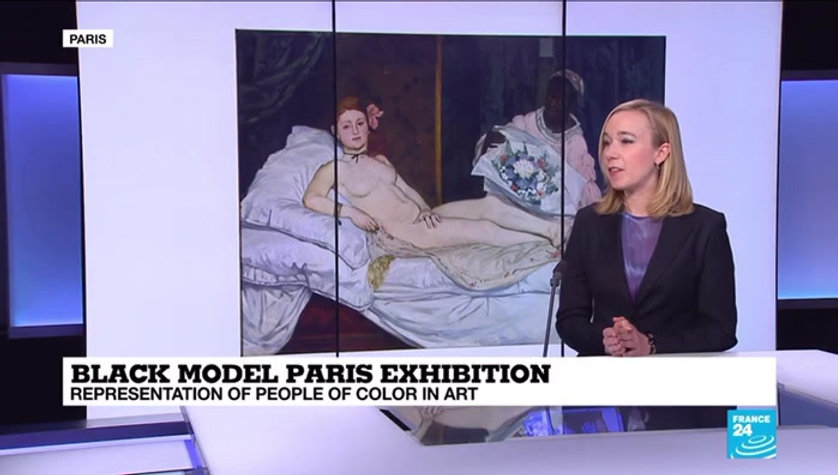 """Last year, I spoke on France 24 about the """"Black Models"""" exhibition held at the Orsay.Here's a clip from that interview.  Denise Murrell's pioneering research has drawn international attention to the topic of the representationof people of color in art."""