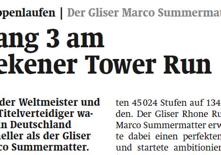 Rang 3 am Rekener Tower Run