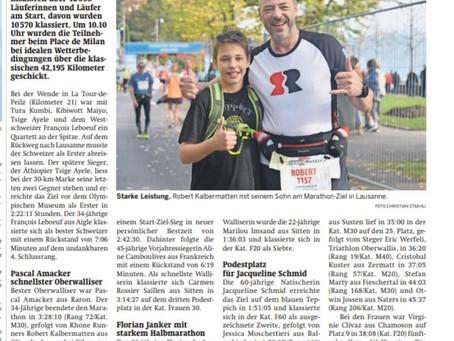27.10.2019 Lausanne Marathon