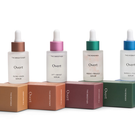 The Ethical, Sustainable and Transparent New Beauty Brand, Overt Skincare