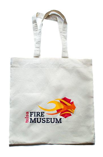 Tulsa Fire Museum Canvas Bag