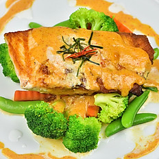 Salmon Red Curry