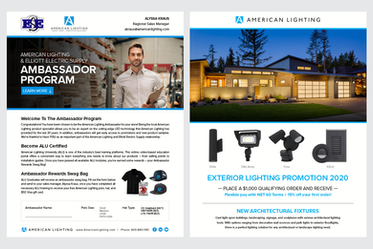 Corporate Promotion Layouts