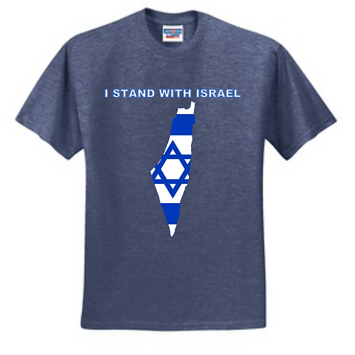 Dark Blue Gray T-Shirt