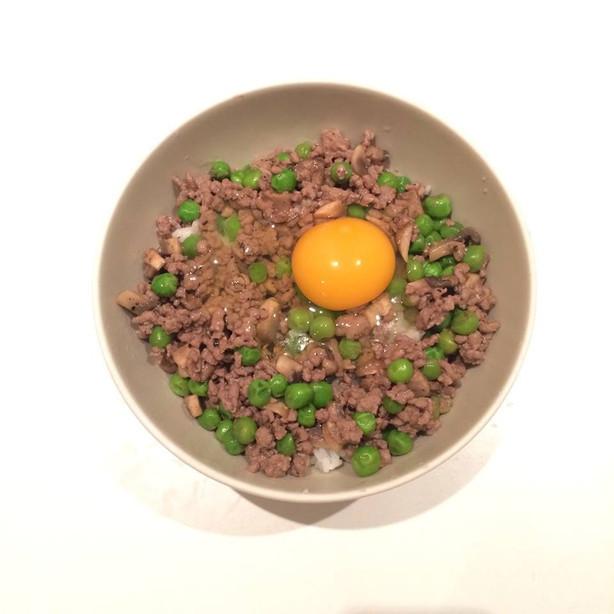 自製港式味道!超易窩蛋免治牛肉飯
