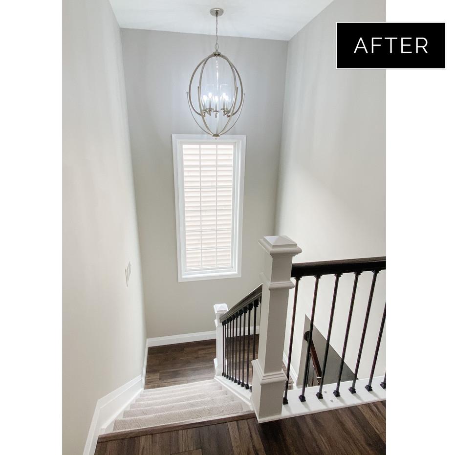Lexington - Staircase AFTER