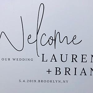 Lauren and Brian