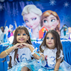 Ester 6 anos e Giovanna 3 anos - Festa Infantil