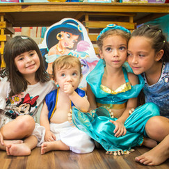 Anthony 1 ano e Lívia 3 anos - Festa Infantil