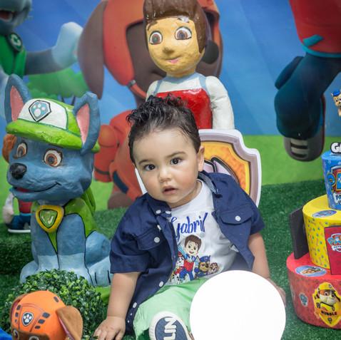 Gabriel 1 ano - Festa Infantil