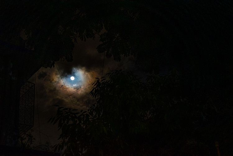 'Rings around the moon, rain coming soon.'