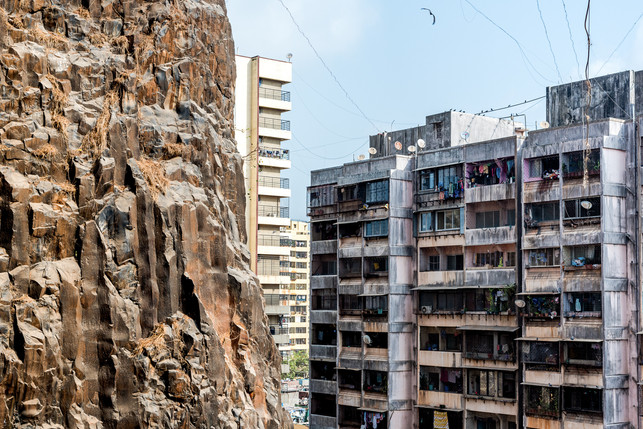 Monolithic Basalt Formation