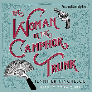 The Woman in the Camphor Trunk Audio Cover