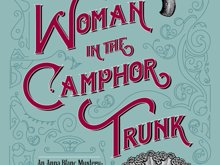 The WOMAN IN THE CAMPHOR TRUNK has been nominated for a Lefty Award!!!