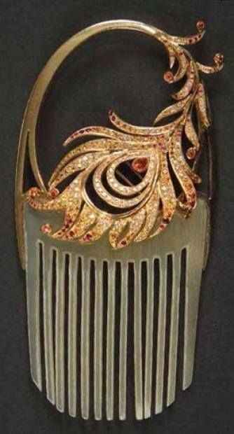 edwardian, art nouveau, jewelry, edwardian hair, hair combs, edwardian jewelry, victorian, lalique, diamonds, gold jewelry, the secret life of anna blanc