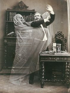Halloween, Edwardian, Victorian, Spirit photography, ghosts