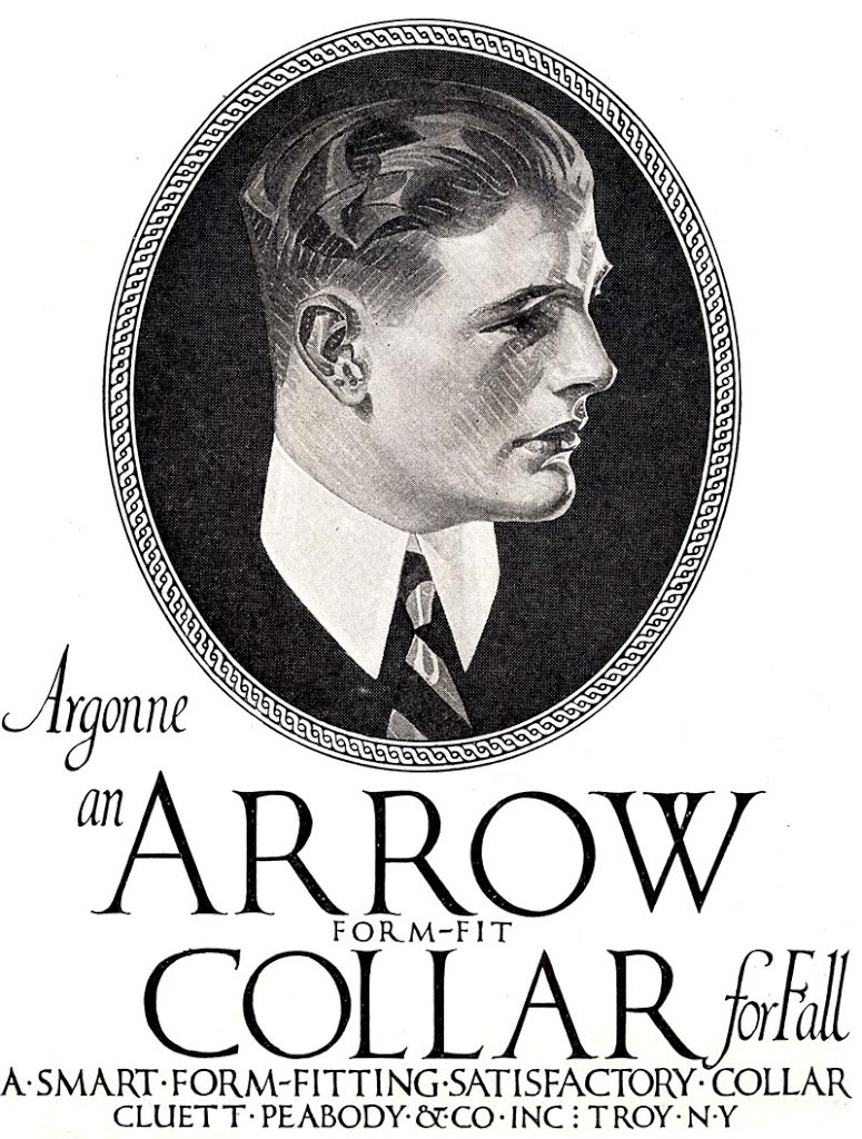 Arrow Collar Man, Illustration, 1900s, THE SECRET LIFE OF ANNA BLANC, Progressive Era, Edwardian,