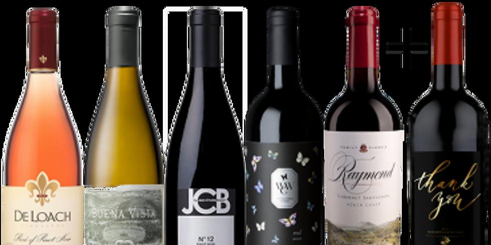 Thirsty Thursday Virtual Wine Tasting