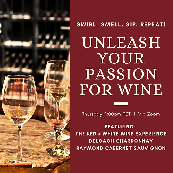 Unleash your passion for wine experience