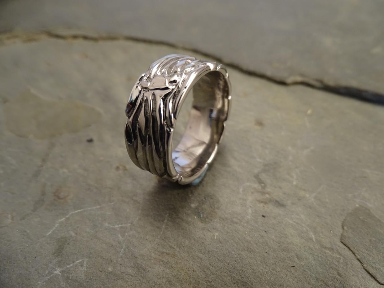 14KW Men's Viking Ring by Cliff