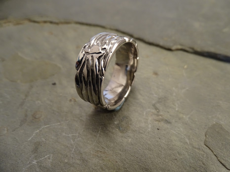 14KW Men's Viking Ring by Cliff