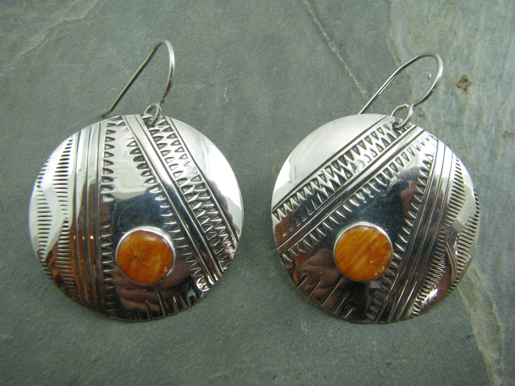 Sawtooth Earrings by Cliff