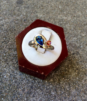 White Gold Engagement Ring by Sam