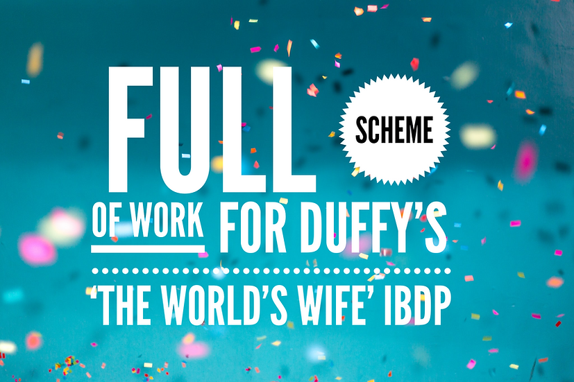 Full SoW for 'The World's Wife' by Duffy: IBDP