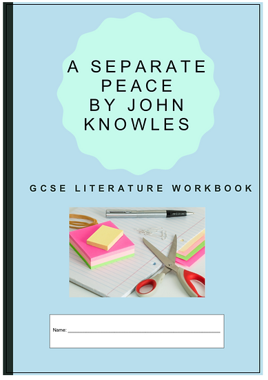 'A Separate Peace' Reading Activity Booklet