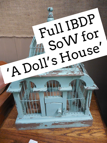 Full SoW for Henrik Ibsen's 'A Doll's House' IBDP