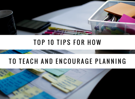 Top Ten Tips for Teaching Planning