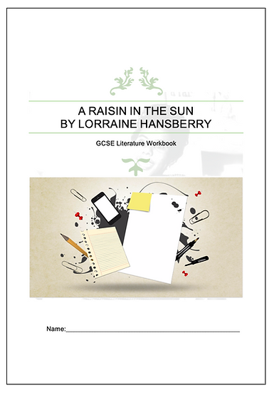 ' A Raisin in the Sun' Reading Activity Booklet