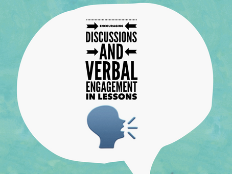 Encouraging verbal engagement