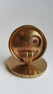 Production of award-winning 3D figurines