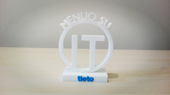 Production of plastic 3D awards