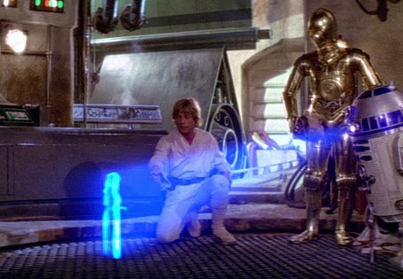 Les hologrammes au cinéma, genèse d'une fascination