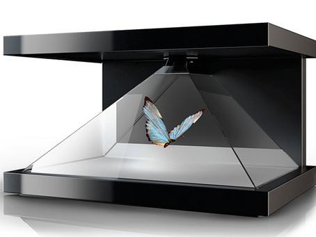 Holopix display, le fonctionnement de la vitrine holographique