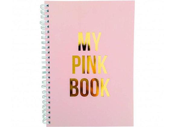 """Carnet A5 """"My pink book"""""""