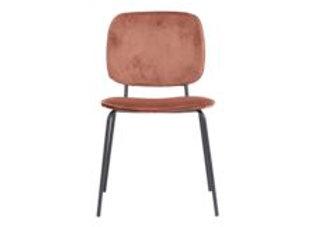 Chaise terracotta