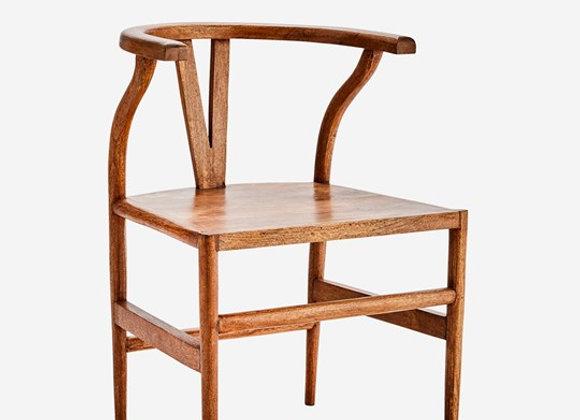 Chaise en manguier naturel