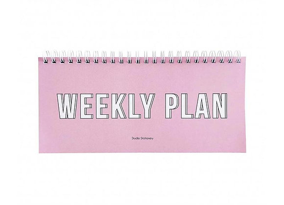 Planificateur Weekly plan