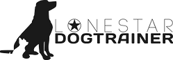 LoneStar Dog Trainer Logo