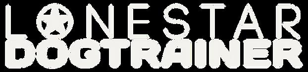 LoneStar Dog Trainer Logo Transparent