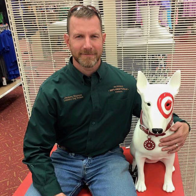 James Hamm and the Target Dog