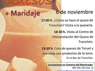 Abierto plazo de inscripción para cata de queso en Tronchón dirigida por 111 Quesos