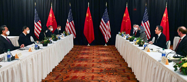 GEOPOLITICS OF THE UNITED STATES AND CHINA IN THE INTERREGNUM. THE MEETING IN ANCHORAGE, ALASKA.