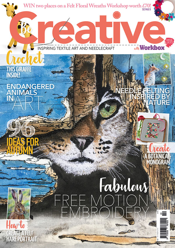 Be Creative cover photo Issue No.180